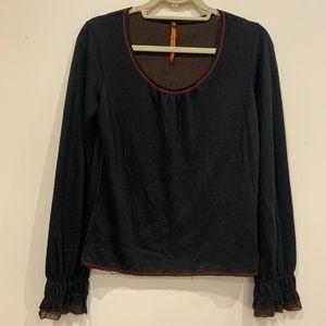 Cop-Copine l/s blouse